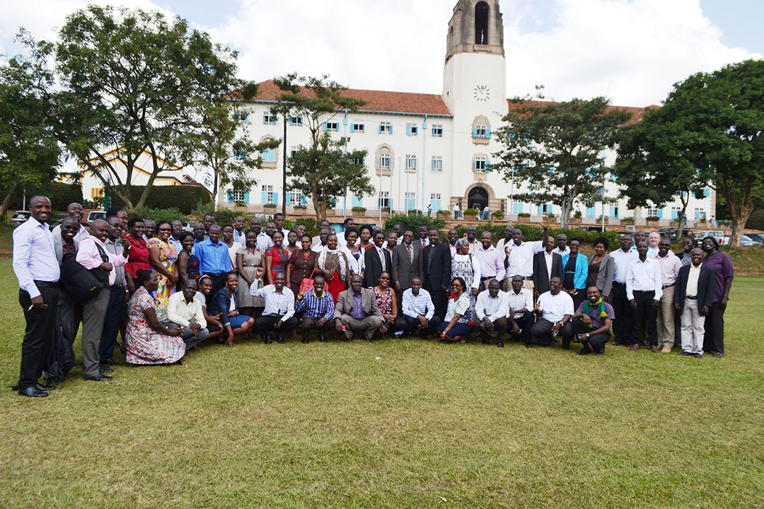 PhD Students & members who attended the Research Capacity Building Exercise